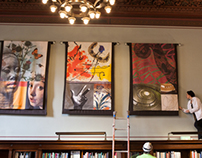 Tapestries for Central Library