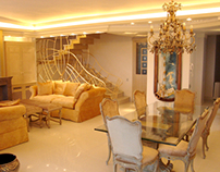 Single house interior design in N751 area - Panorama