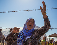 THE BATTLE FOR KOBANE: FROM THE TURKISH BORDER