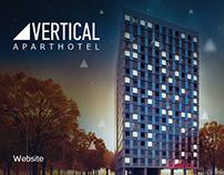 VERTICAL APARTHOTEL- Promo site