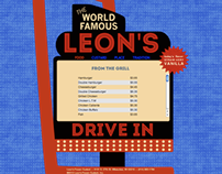 Leon's Custard Website