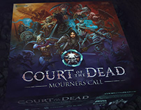 Court of the Dead: Mourners Call Board Game Trailer