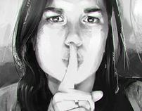 Shhh! - Portrait