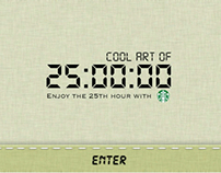 Enjoy the 25th hour with Starbucks