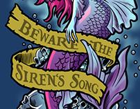 Sirena y Kraken | tatuajes/tattoo