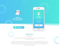 Scanner Mobile App - UI/UX Design