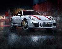 100% CGI Porsche 911r Harbour Race