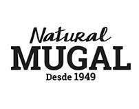 Etiquetas y logotipo Natural Mugal