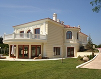 New-classic single house in Topographon area - Pylaia