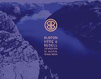 Burton, Hyde & Bedell — Brand Identity