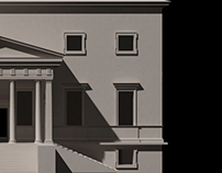Andrea Palladio's Villa Pisani in Bagnolo, Italy