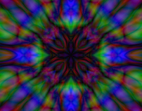Tie-Dye Kaleidoscope Patterns