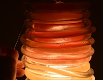 Wax Tube Lamp