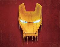 IronMan Melting 3d Lenticular(Marvel)