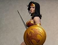 Frank Cho Wonder Woman Statue