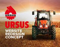 Ursus Website - Redesign