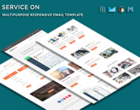 SERVICE ON - Multipurpose Responsive Email Template