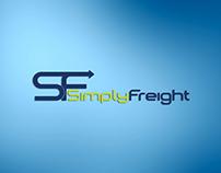Simply Freight Logo Design
