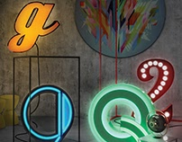 Graphic Letters Lighting