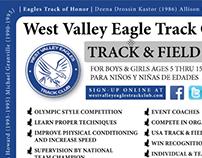 Postcard Design - West Valley Eagle Track Club