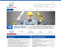 Samson Industrie Web Template