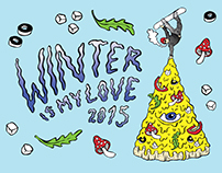 8. Winter is my Love - snowboard film festival ID