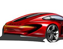 PORSCHE 911 E turbo 5. Semester 10.2012- 02.2013