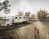 Hospital on wheels / India