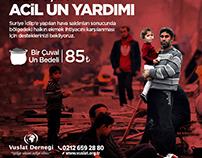 """""""Suriye İdlip İçin Yardım"""" konulu Video Çalışması"""