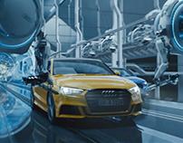 """Audi A3 Campaign """"Next Level"""" 2016"""