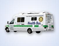 Branding | SHC - Health Bus