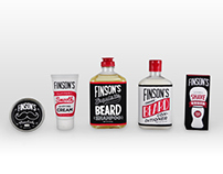 Finson's Beard Care Packaging