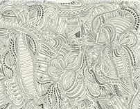 Sketchbook Pattern