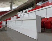 Mesas de prensa Estadio Chivas