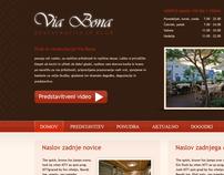 Restavracija - Via Bona