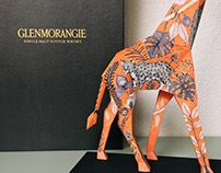 Giraffe paper sculpture. #SubastaGlenmorangie®