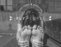FLYpeople Yoga studio - logo & photoshoot