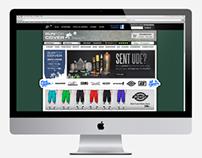 Run For Cover - Web Design