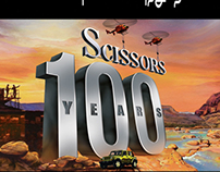 Scissors 100 Years Limited Edition Pack