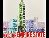 Typography: Empire State Building