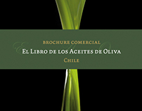 Brochure: El libro de los aceites de oliva, Chile