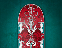 Abstract 26.21 - Skate Decks