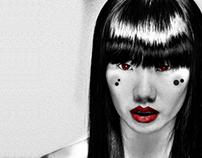 Asian Goddess - Art Project