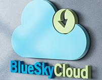 BlueSkyCloud - Logo Design