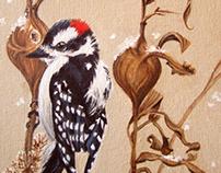Oil Paintings - Birds