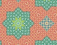 Free Kaleidoscopic Patterns 1