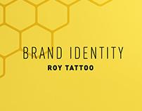 BRAND IDENTITY: Roy Tattoo