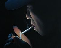Light by Night acrylique sur toile 100/120 cm sMer Prod