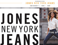 Jones New York Denim Lookbook