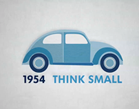 THINK BLUE in motion graphic
